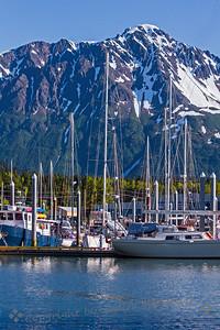 Small Boat Harbor, Seward, Alaska - Judith Sparhawk