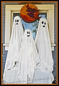 Poppa, Momma & Baby Ghost - Judith Sparhawk