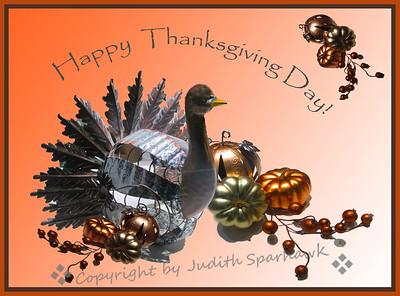 Happy Thanksgiving Day! - Judith Sparhawk