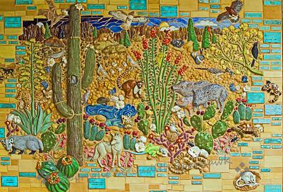 Saguaro NP Mural