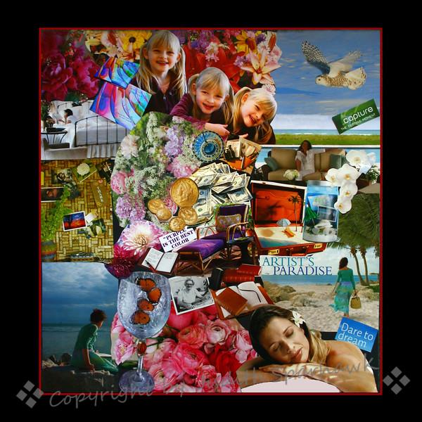 Artist's Dream Collage