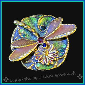 The Bejeweled Dragonfly - Judith Sparhawk