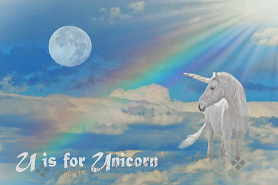 U is for Unicorn