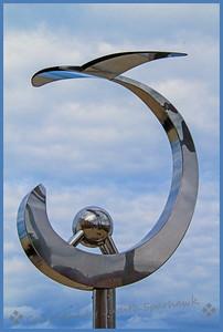 Sculpture at the Beach - Judith Sparhawk