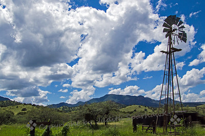 Windmill at Brown Canyon Ranch - Judith Sparhawk