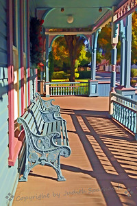 Siitting on the Old Porch