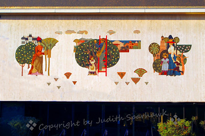 Mosaic Mural in Redlands - Judith Sparhawk