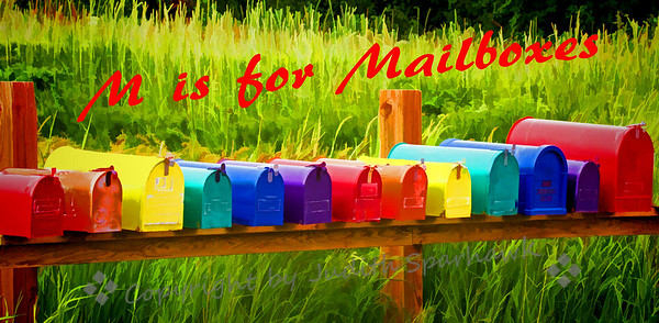 M is for Mailboxes