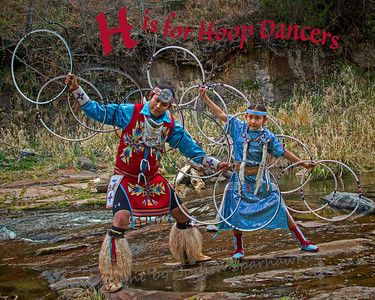 H is for Hoop Dancers