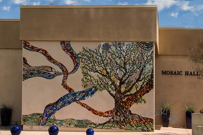 Mosaic Mural - Judith Sparhawk