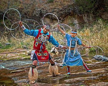 The Hoop Dancers - Judith Sparhawk