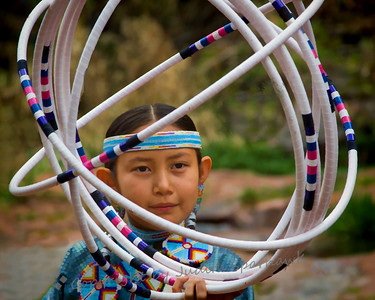 Kailayne With Her Hoops - Judith Sparhawk