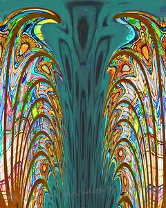 Mystery Abstract - Judith Sparhawk