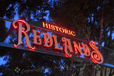 Historic Redlands Sign - Judith Sparhawk