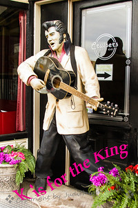 K is for The King