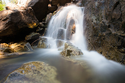 Fish Creek Falls near Steamboat Springs, Colorado