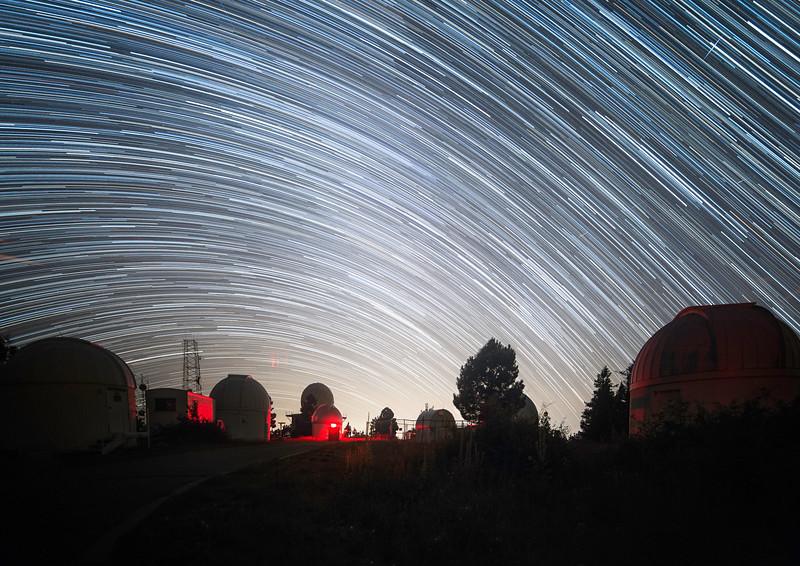 Mt. Lemmon University of Arizona SkyCenter Startrail Catalina Sky Survery