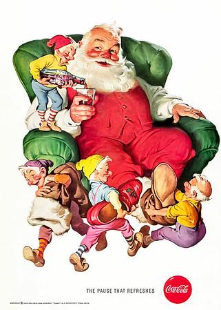 1960 Coca-Cola Christmas Advertisement