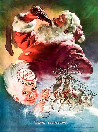 1949 Coca-Cola Christmas Advertisement