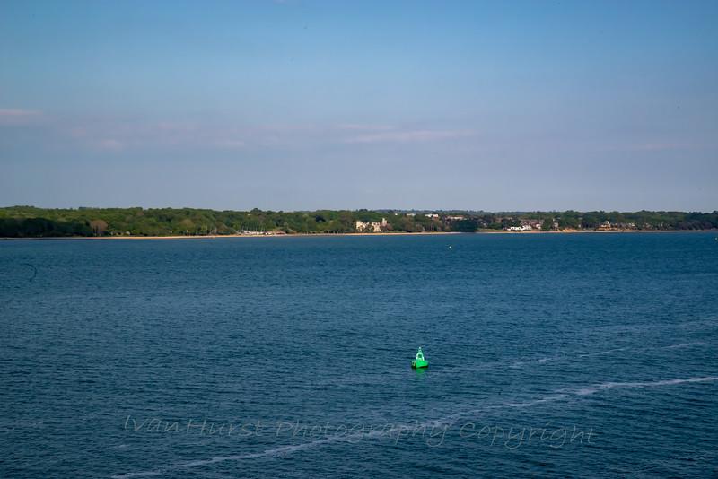 Southampton Water, Weston Shelf Buoy