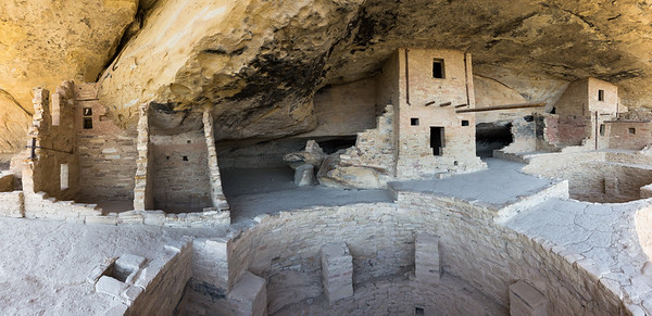 Balcony House Cliff Dwelling, Mesa Verde National Park in Colorado