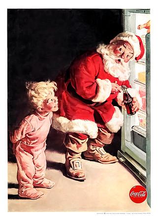 1959 Coca-Cola Christmas Advertisement