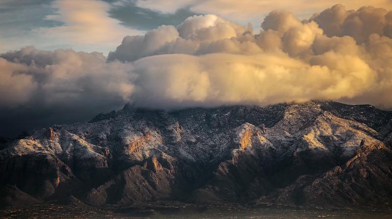 Catalina Snow Sunrise