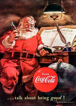 1951 Coca-Cola Christmas Advertisement