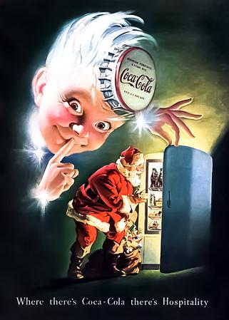 1948 Coca-Cola Christmas Advertisement