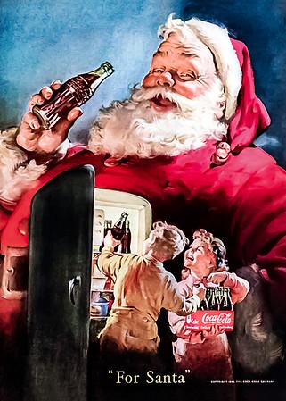 1950 Coca-Cola Christmas Advertisement