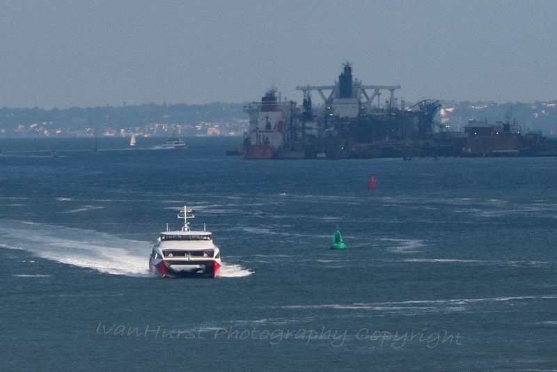 Isle of Wight ferry and Fawley Marine Terminal