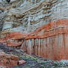 Red Rock Canyon Wall