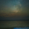 Colors of the Night - Milky Way and Biolumenesce