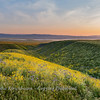 Sundown on the Carrizo Plain