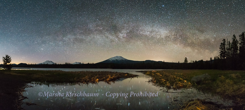 Starry Night on an Oregon Lake
