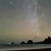Winter Night Sky with Andromeda