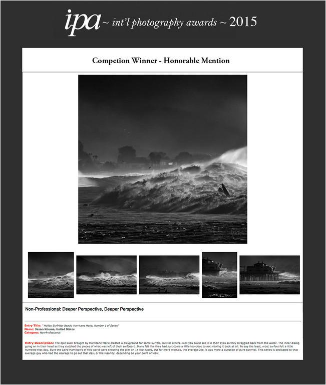 IPA - Int'l Photography Awards 2015