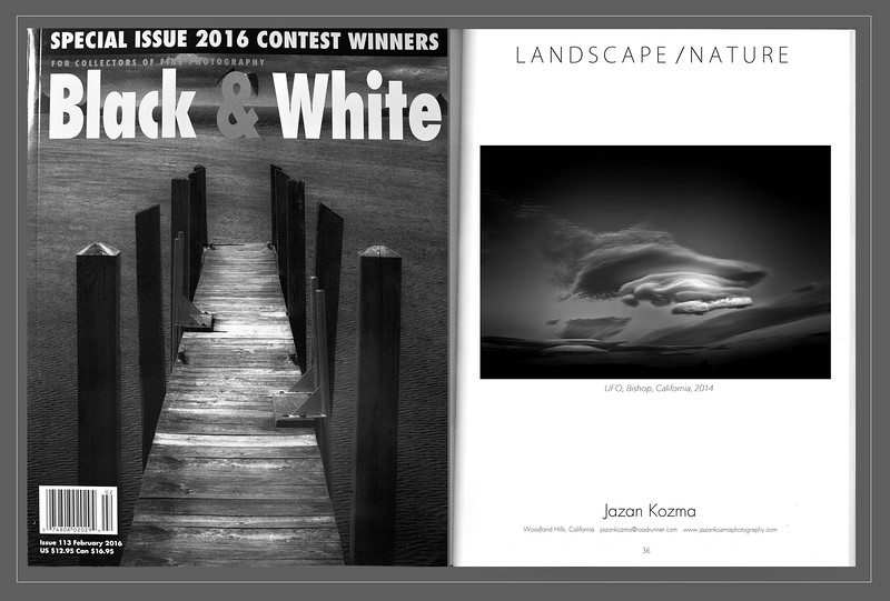 Black & White Magazine 2016  Contest Winner Jazan Kozma, Catagory: Landscape/Nature