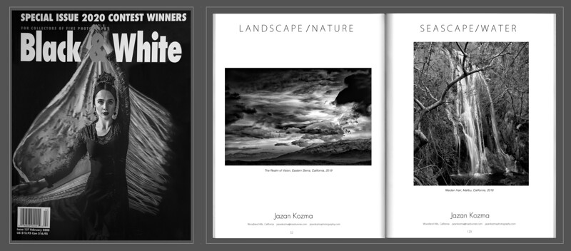 Black & White Magazine -  2020 Single Image Contest Winners