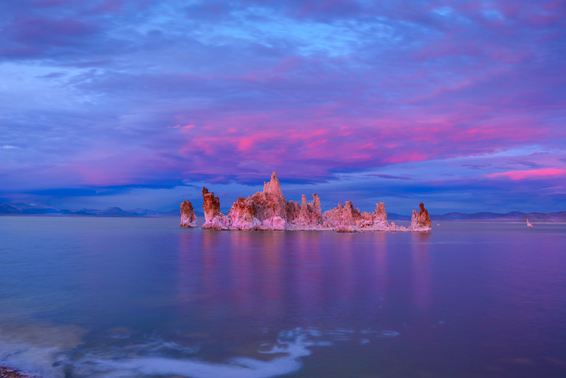 Suset at Mono Lake