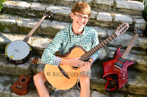 Woodford County senior pictures: Brett