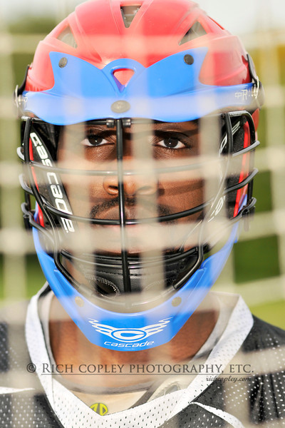 Sept. 30, 2012 - We got together with Damarcus for the lacrosse portion of our senior shoot Sunday afternoon after a practice for the Lafayette lacrosse team. I've barely had a chance to look at the shots yet, but Damarcus was really into the session and willing to play around and experiment a bit, including on this shot. (292/366)