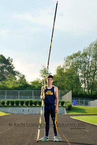 May 16, 2012 - Trevor, whose personal best in the pole vault is 12 feet. He's heading to state this weekend. (153/366)
