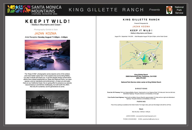Keep It Wild! 2016 - Photography Exhibit & Sale
