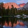 Bench Lake Sunset