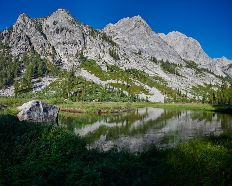 John Muir Trail between Ladder and Palisades