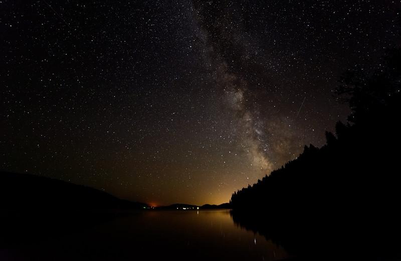 McCall, Idaho at Night