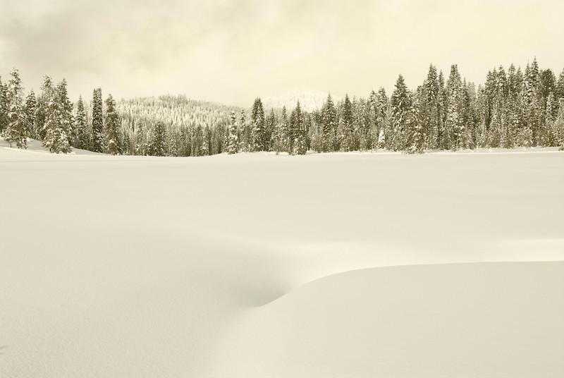 Bear Basin in Winter, McCall, Idaho
