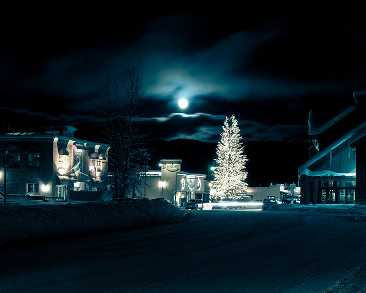 McCall, Idaho on Christmas Eve, 2007
