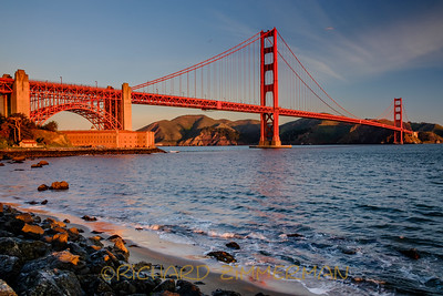 Sunrise at the Golden Gate Bridge